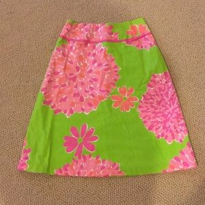 Lilly Pulitzer skirt size 0